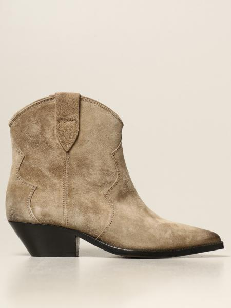 Isabel Marant: Dewina Isabel Marant ankle boot in suede