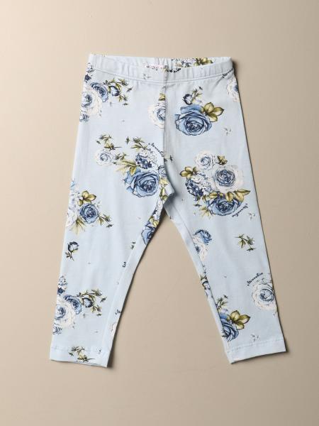 Monnalisa floral patterned leggings