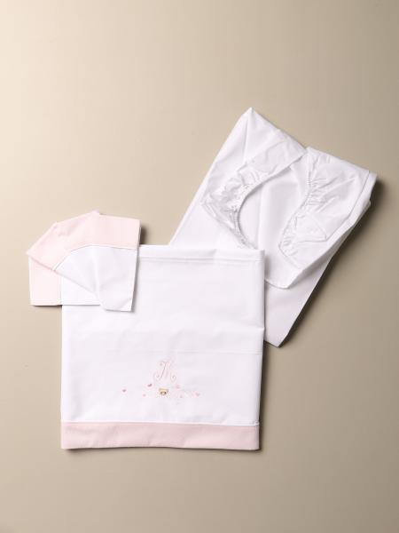 Set lenzuolo + copri materassino + federa Monnalisa in cotone