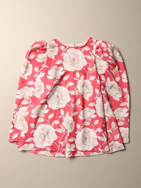 T-shirt Monnalisa a fantasia floreale