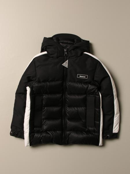 Moncler down jacket in padded nylon and technical fabric