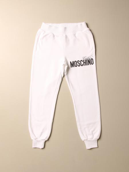 Pantalone jogging Moschino Kid con logo