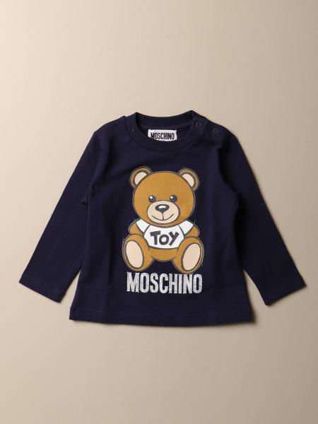 Moschino Baby T-shirt with Teddy logo