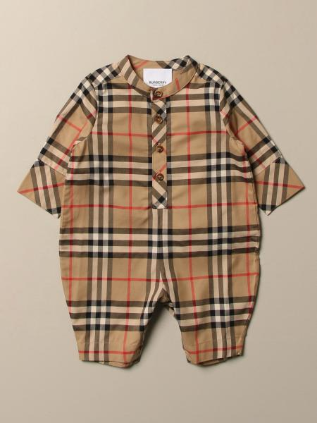 Burberry jumpsuit in vintage check cotton