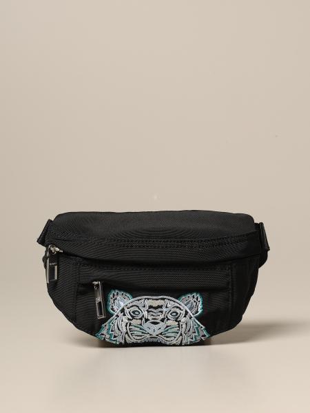 Kenzo belt bag in canvas with Tiger Kenzo Paris logo