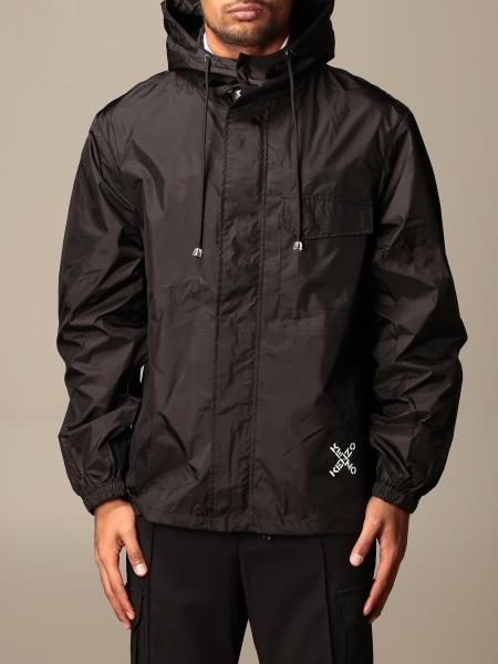 Kenzo: Kenzo zip-up nylon jacket with logo