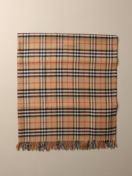 Burberry scarf in check wool