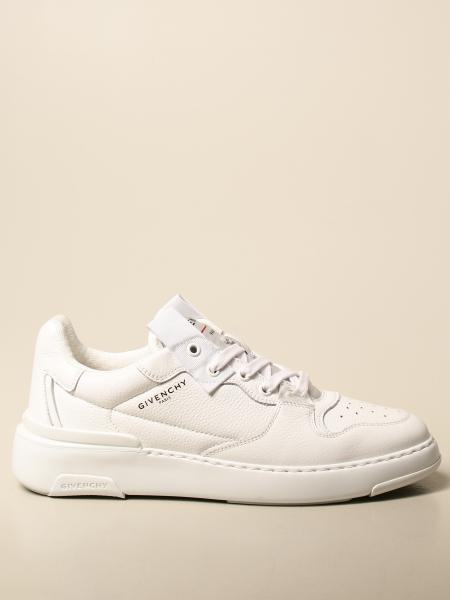 Givenchy: Givenchy sneakers in leather with logo