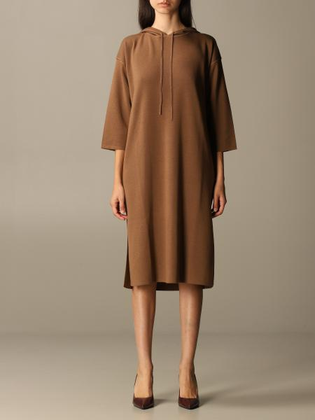 Max Mara wool dress with hood