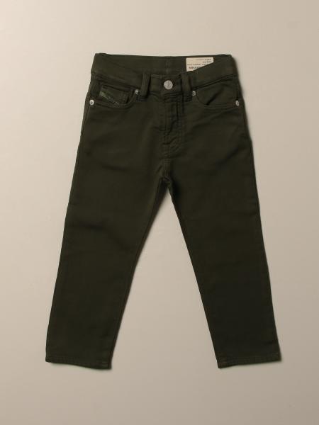 Pantalone Diesel in cotone a 5 tasche