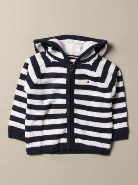 Tommy Hilfiger striped knit sweatshirt