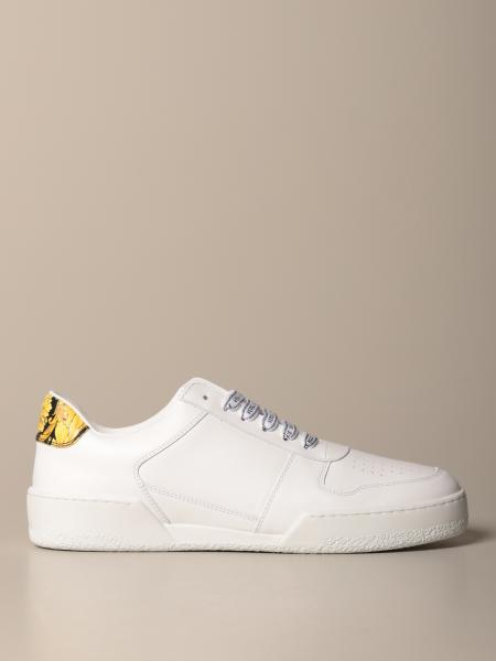 Ilus Versace sneakers in leather with baroque heel