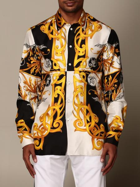 Versace shirt with baroque print