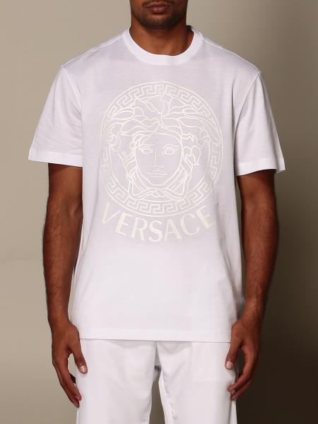 T-shirt Versace con logo Medusa