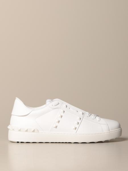Valentino Garavani Rockstud Untitled sneakers in leather with studs