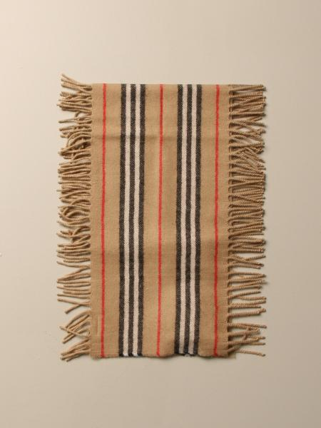 Sciarpa Burberry in puro cashmere check