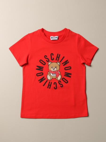 Moschino Kid T-shirt with Teddy print