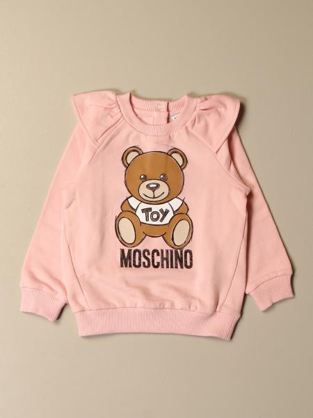Sweat Moschino Baby avec logo Teddy Toy