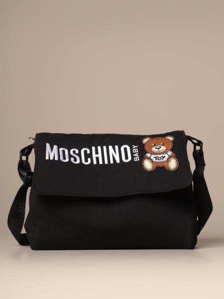 Diaper bag Teddy Moschino Baby in cotone