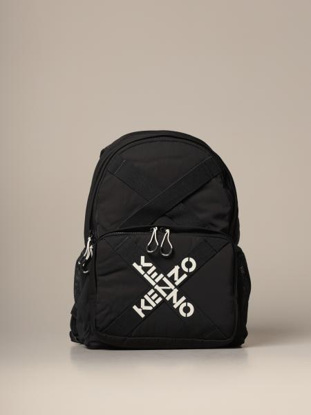 Kenzo: Sport Kenzo backpack in nylon with crossed bands