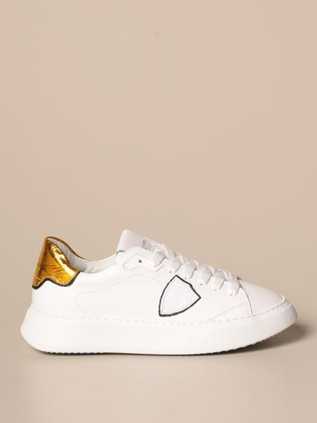 Sneakers Temple Veau Lamine Philippe Model in pelle