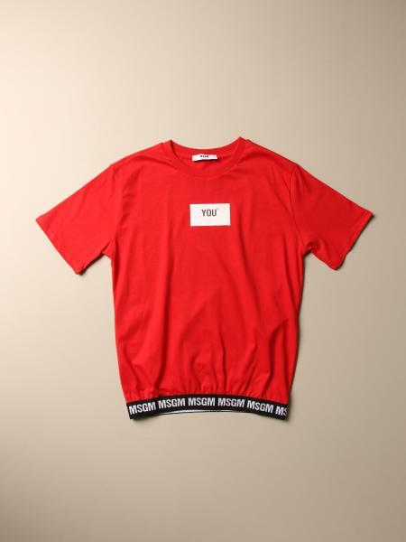 Camisetas niños Msgm Kids