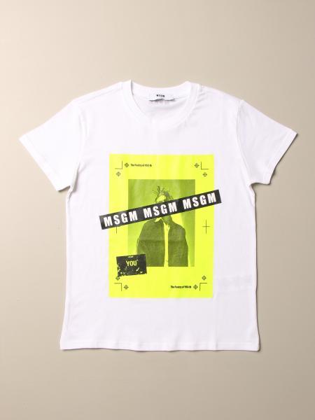 Msgm: T-shirt kinder Msgm Kids
