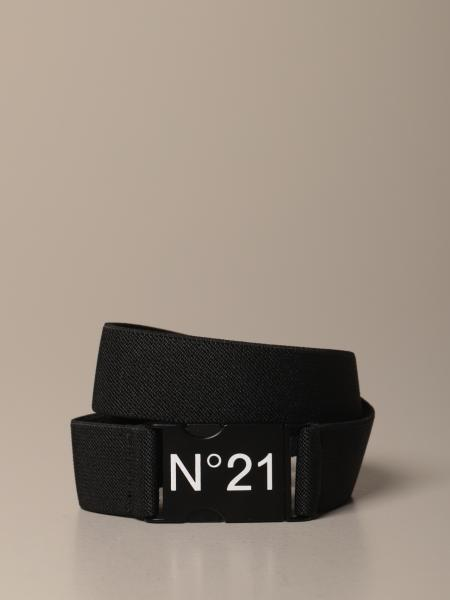 N ° 21 belt in stretch fabric