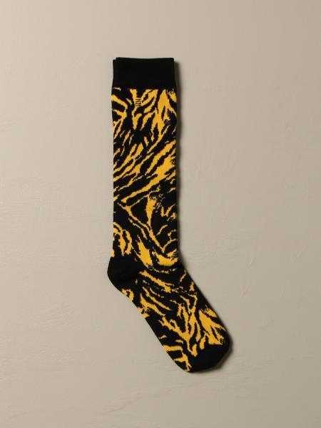 N ° 21 socks in animalier cotton