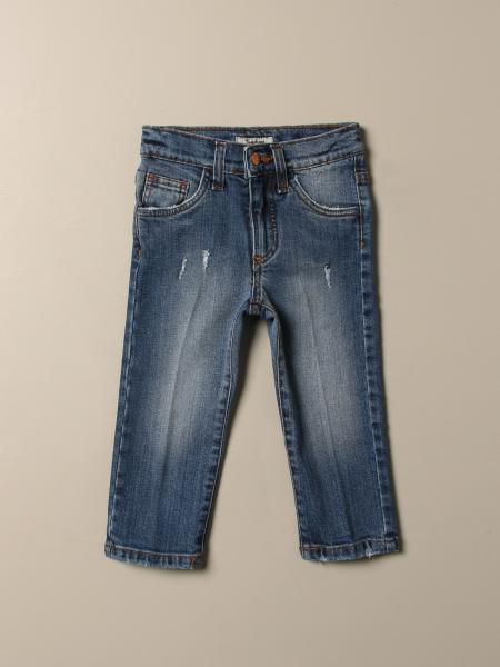 Jeans Nupkeet in denim used con rotture