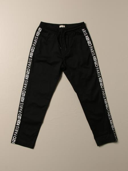 Kenzo Junior Jogging Trousers with logoed bands