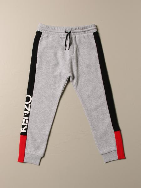 Pantalone Jogging Kenzo Junior con bande color block
