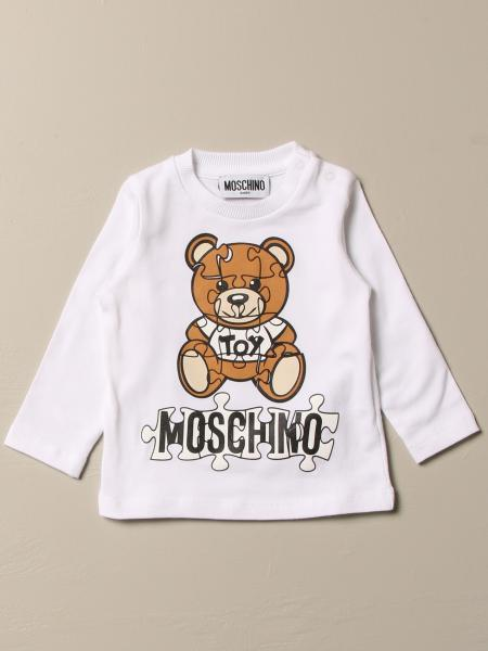 Moschino Baby T-shirt with Teddy Puzzle print