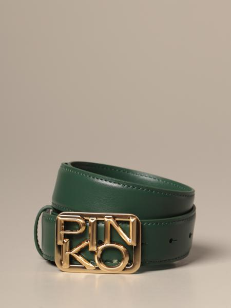 Small whistle Simply Pinko leather belt
