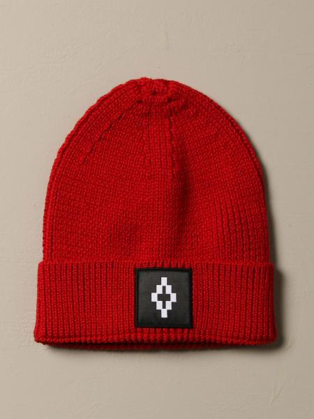Cappello Marcelo Burlon in misto lana con logo