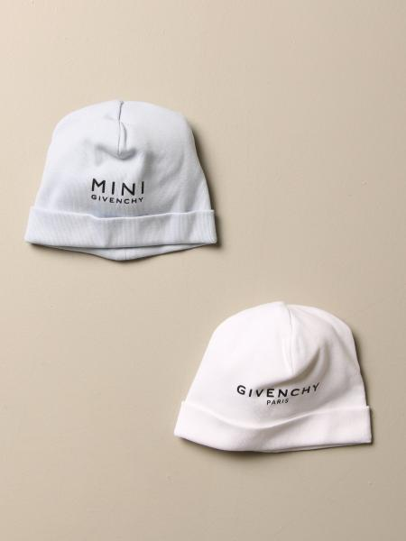 Set 2 cappelli Givenchy in cotone con logo