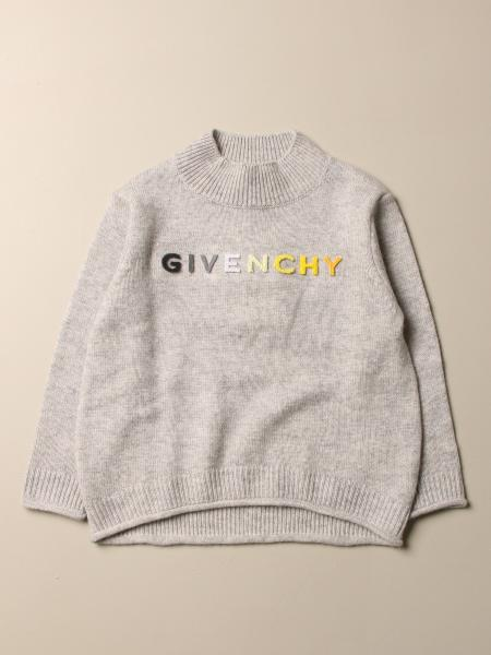 Givenchy pullover in cashmere blend with shaded logo