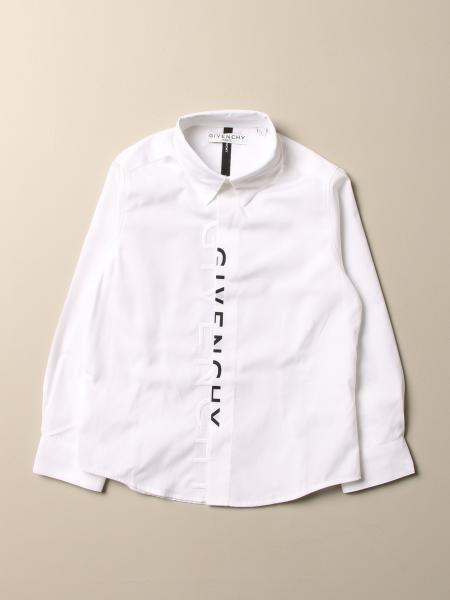 Givenchy cotton shirt with two-tone logo