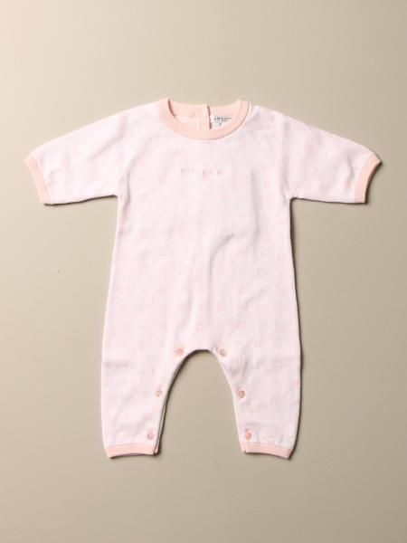 Givenchy cotton onesie with all over logo