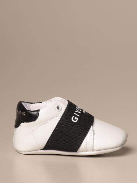 Givenchy cradle shoe in leather with logo
