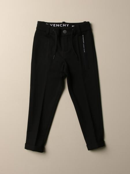 Pantalone Givenchy con coulisse e logo