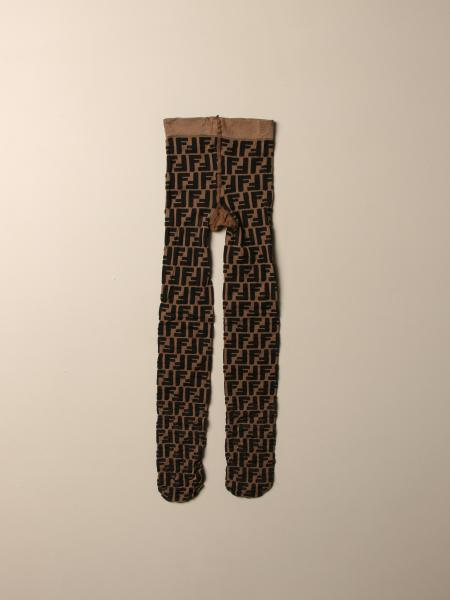 Fendi tights with all-over FF logo