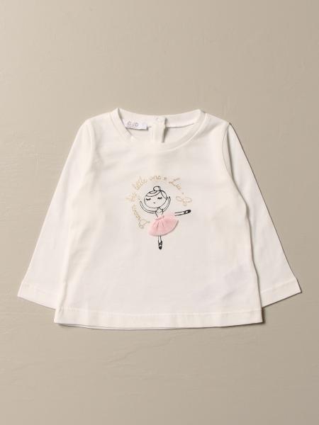Liu Jo cotton T-shirt with ballerina