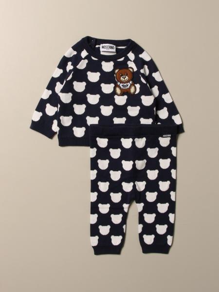 Completo maglia + pantalone Moschino Baby