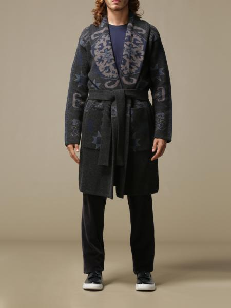 Etro wrap coat with belt