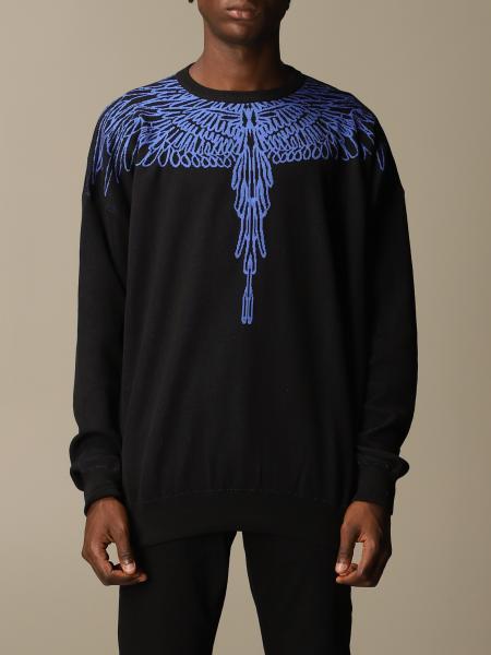 Marcelo Burlon cotton blend sweater with wings