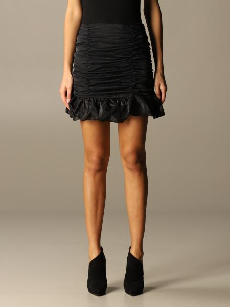 Nine Minutes draped mini skirt