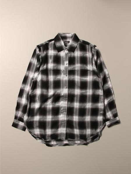 Camicia Diesel in cotone a quadri