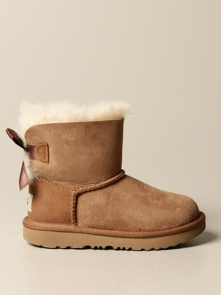 Ugg Australia: Mini Bailey Bow II Ugg Australia ankle boot with bow