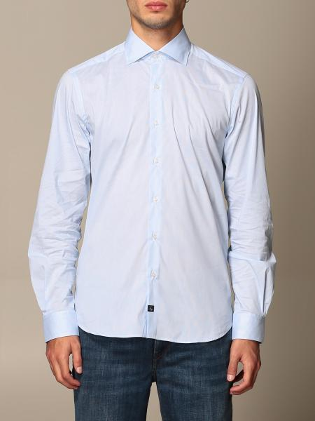 Fay: Fay cotton shirt with French collar